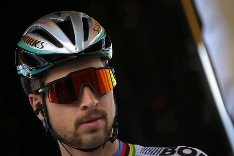 Peter Sagan fue expulsado del Tour, pero el admite que no hizo nada malo. (Foto Prensa Libre: AP)