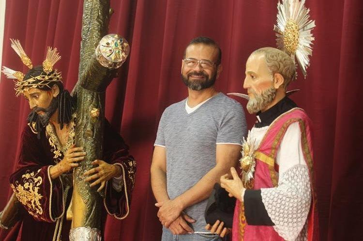 Luis Manuel Muñoz fue el encargado de los trabajos de restauración de ambas imágenes.