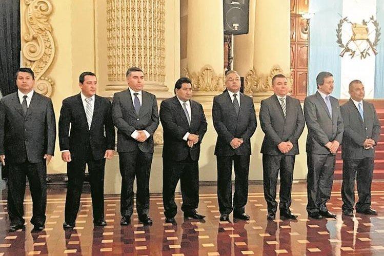 Seis gobernadores presentaron su renuncia al cargo al presidente Jimmy Morales. (Foto Prensa Libre: Hemeroteca PL)