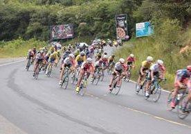 Continúa la Vuelta Ciclística a Guatemala.