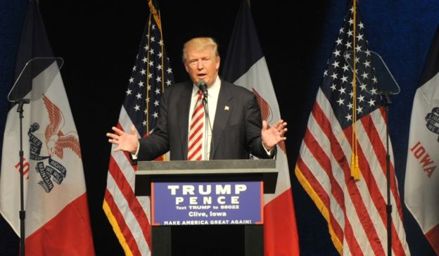 Trump ha llegado a proponer que no se deje entrar a los musulmanes a Estados Unidos. GETTY IMAGES