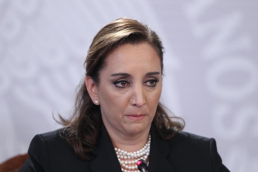 La canciller mexicana, Claudia Ruiz Massieu. (Foto Prensa Libre: EFE).