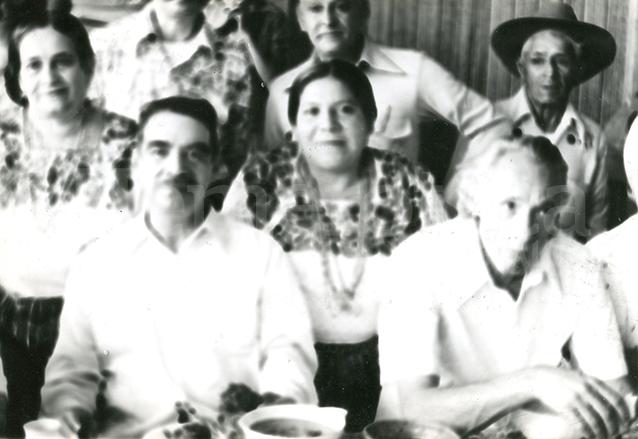 Romeo Lucas García y Francisco Villagrán Kramer, presidente y vicepresidente de Guatemala. Villagrán Kramer renunció en 1980 y Lucas García fue derrocado en marzo de 1982. (Foto: Hemeroteca PL)