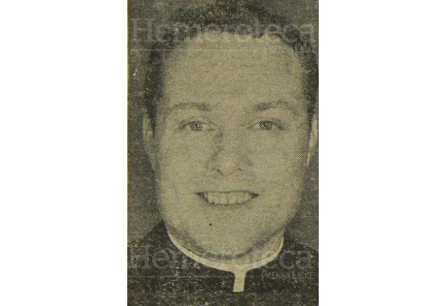 El padre Guillermo Woods en su juventud. (Foto: Hemeroteca PL)