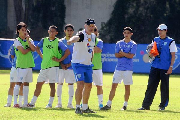 Ivan Franco Sopegno se prepara para la Copa Oro. (Foto Prensa Libre: Jeniffer Gómez)