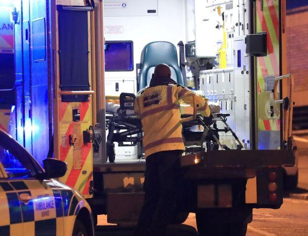 La policía confirmó que se registraron muertos y heridos. PA