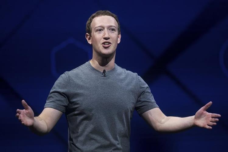 Mark Zuckerberg habló durante la edición anual del evento F8 (Foto Prensa Libre: AP).