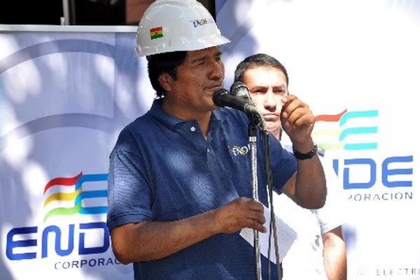 <p>El presidente de Boliva, Evo Morales.</p>
