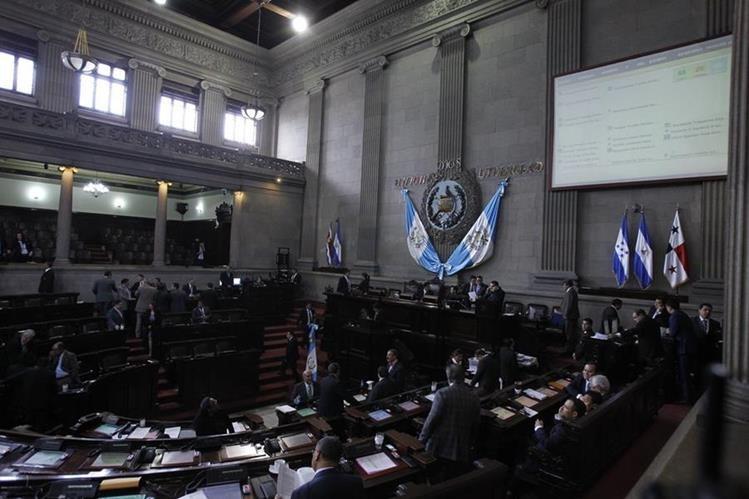 El Pleno tiene programado retomar la discusión de las reformas constitucionales este miércoles. (Foto Prensa Libre: HemerotecaPL)