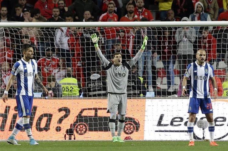 Iker Casillas sigue siendo figura clave para el Oporto. (Foto Prensa Libre: AP)