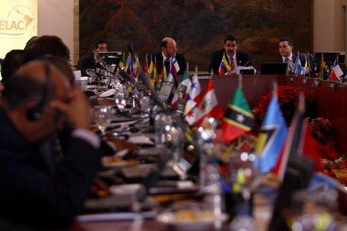 La Celac es integrada por los países de América latina y del Caribe. Abordan los problemas de la región. (Foto Prensa Libre: Celac)