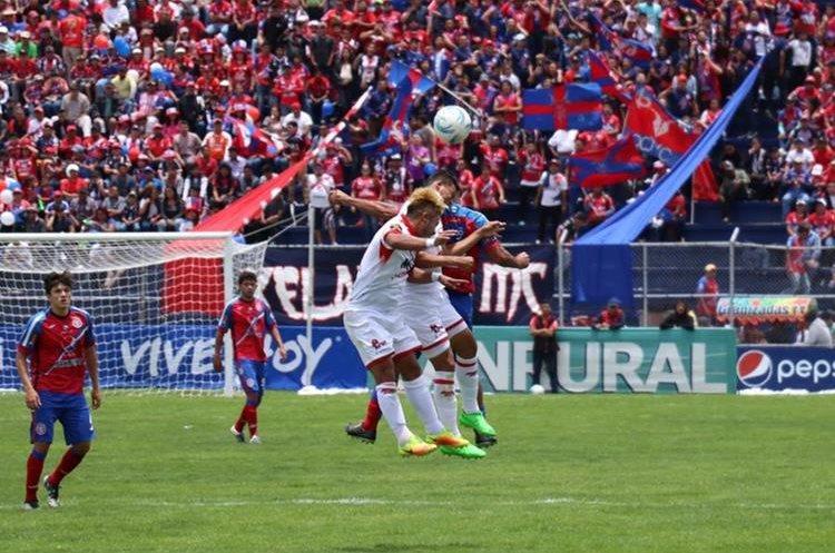Malacateco no permitió que su portería fuese superada por Xelajú. (Foto Prensa Libre: Raúl Juárez)