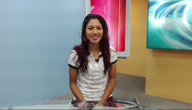 Dalia Soberanis es una de las promesas del patinaje guatemalteco. (Foto Prensa Libre: Carlos Vicente)