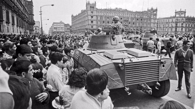 En 1968 México vivía intensos conflictos sociales. WIKIMEDIA