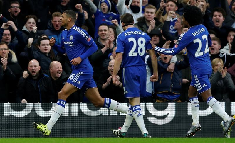 El Chelsea avanzó sin brillo a siguiente ronda de la FA Cup. (Foto Prensa Libre: AP)