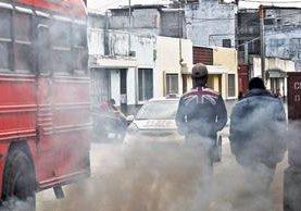 <p>La contaminación producida por el tránsito vehicular se agrava con el paso de los años, determina un análisis.</p>