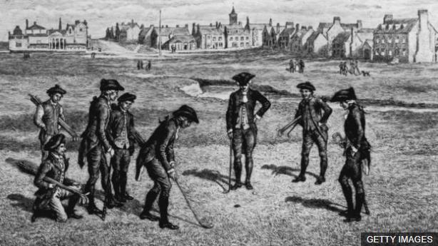 No fue hasta finales del siglo XIX cuando se estableció una medida estándar para los hoyos de golf.