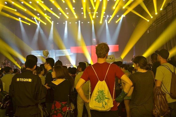 La música podría ser una puerta para acercar a las economías de China y el Caribe. (Foto Prensa Libre: AFP)