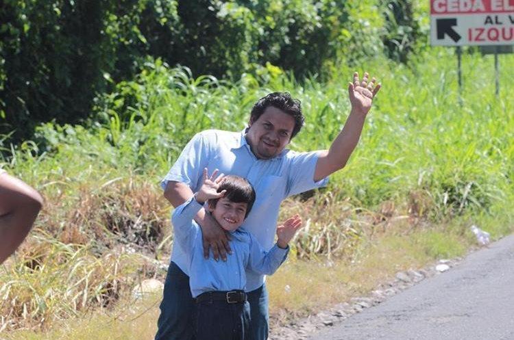 La 56 Vuelta Ciclística a Guatemala es una alegría para grandes y chicos en el interior de la república.