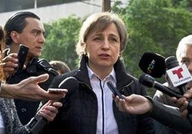 La periodista Carmen Aristegui ha sido víctima de ciber espionaje. (Getty Images)