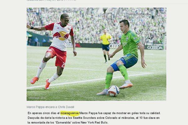 Así es como esta el portal de Internet de Univision. (Foto Prensa Libre: Univision.com)