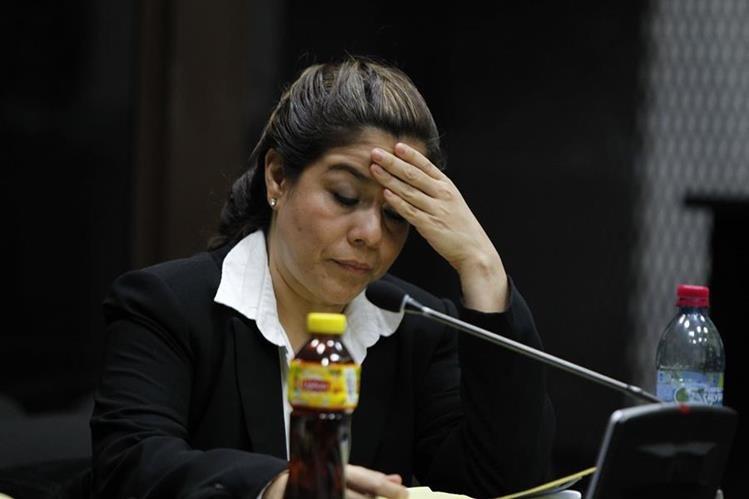 Claudia Méndez, exintendente de Aduanas. (Foto Prensa Libre: Hemeroteca PL)