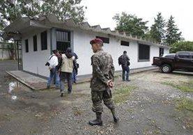Instalaciones del centro de detención en la Brigada Militar Mariscal Zavala, lugar donde pudo haberse fugado Marixa Lemus, alias La Patrona. (Foto Prensa Libre: Hemeroteca)