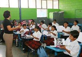 El sistema educativo del país impartirá clases con normalidad. (Foto Prensa Libre: Hemeroteca PL)