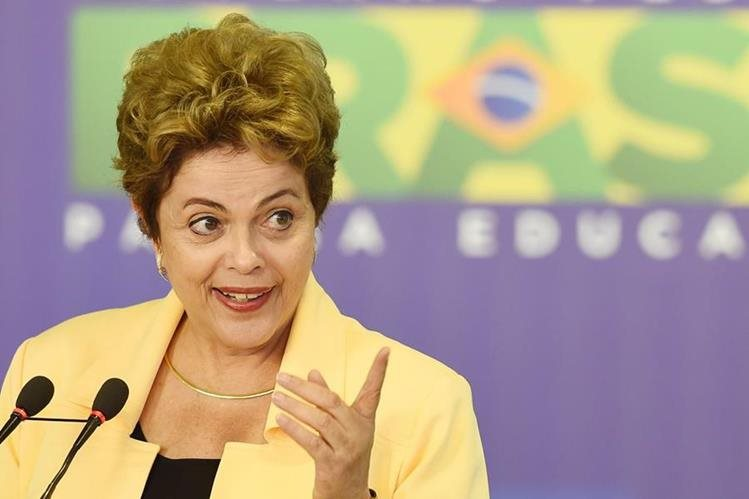 Dilma Rousseff, mandataria argentina. (Foto Prensa Libre: AFP)