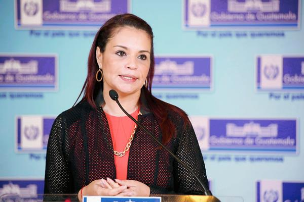 La exvicepresidenta busca acercamientos con la justicia. (Foto Prensa Libre: Hemeroteca)
