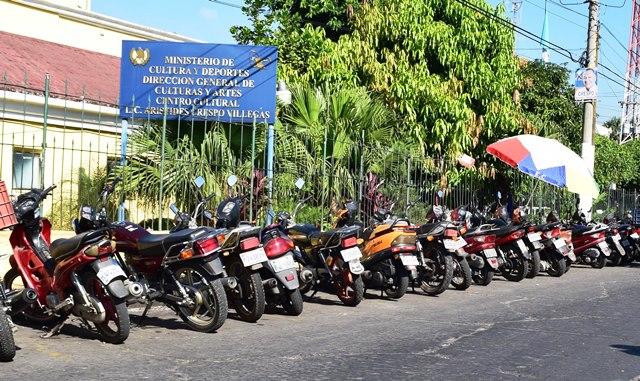 El robo  de motocicletas   afecta varios sectores de  Escuintla, según fuentes policiales. (Foto Prensa Libre: Carlos Paredes)