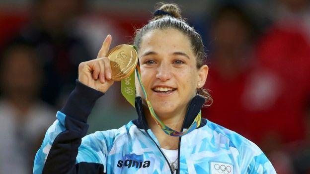 La yudoca argentina Paula Pareto recibirá US$70.000. (Reuters)