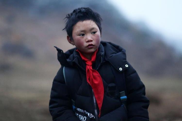 La historia del niño que llegó con el pelo congelado