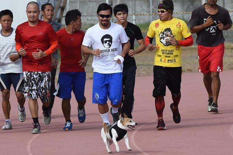 El gigante estadounidense de artículos deportivos Nike rompió este miércoles su relación con Manny Pacquiao. (Foto Prensa Libre: AFP)