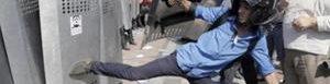Protestas en Ucrania dejan 141 heridos.