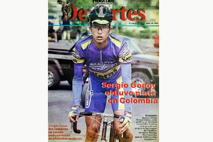 El ciclismo guatemalteco destacaba en el plano internacional. (Foto: Hemeroteca PL)