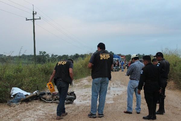 El empleado  de una empresa  de telefonía  perdió  la vida  en un ataque  armado en San Benito.