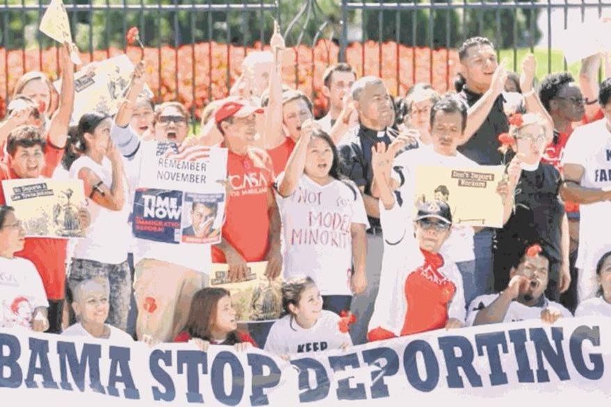 Miles de migrantes han pedido, a través de manifestaciones, el cese de las deportaciones. (Foto Prensa Libre: Hemeroteca PL).