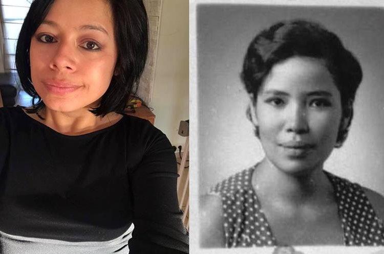 Delphine Magnée se siente orgullosa de los rasgos guatemaltecos que heredó de su madre Mirna Catalán. (Foto Prensa Libre: Cortesía)