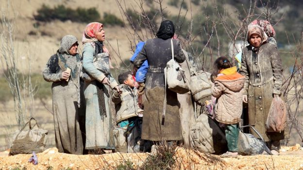Casi la mitad de la población siria de 23 millones, antes de la guerra, ha sido desplazada por el conflicto. REUTERS