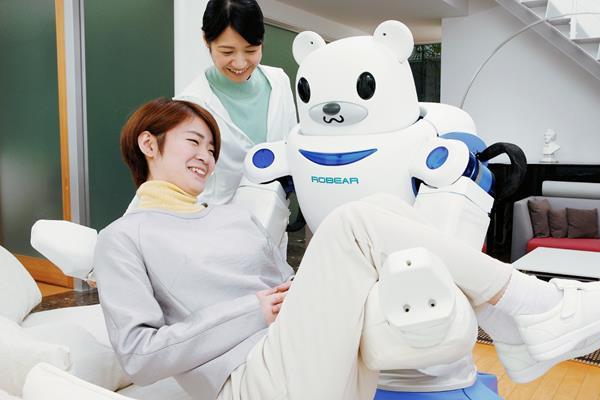 Robear tiene un aspecto simpático y caricaturesto, para no intimidar a los pacientes (Foto: Hemeroteca PL).
