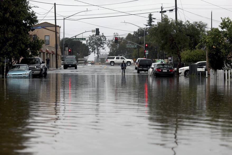 Una parte del norte de California se reportan crecída de ríos. (AP).