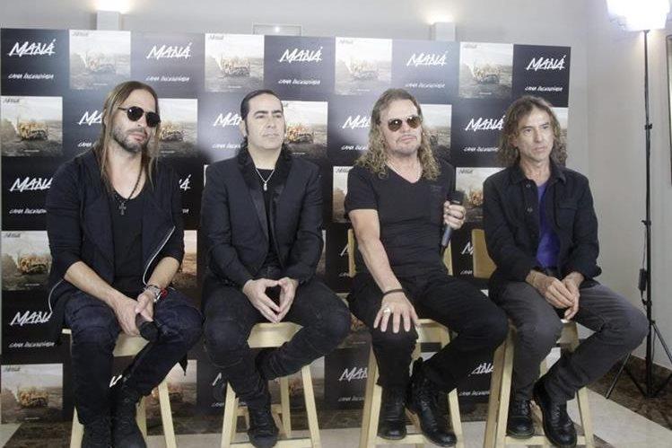 Maná realiza gira en España y promociona el álbum Cama incendiada. (Foto Prensa Libre: EFE)