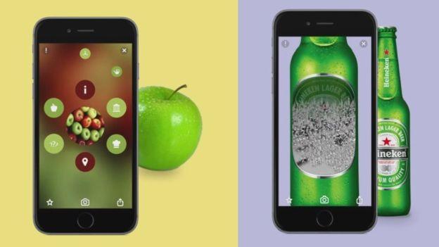 Blippar utiliza la realidad aumentada para proporcionar información sobre objetos. (BLIPPAR)