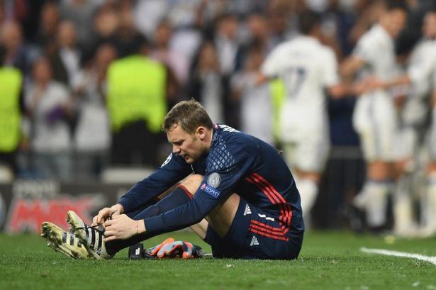 Manuel Neuer encendió las alarmas en el Bayern, porque pueda tratarse de una recaída de la lesión del año pasado. (Foto Prensa Libre: Twitter)