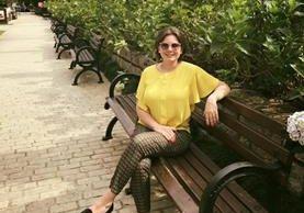 Angie Albizu, luego de haber sobrepasado la enfermedad. (Foto Prensa Libre: Tomada de Facebook).
