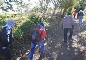 Tres de los montañistas murieron por hipotermia, los otros tres a causa de golpes graves. (foto Prensa Libre: Hemeroteca PL)