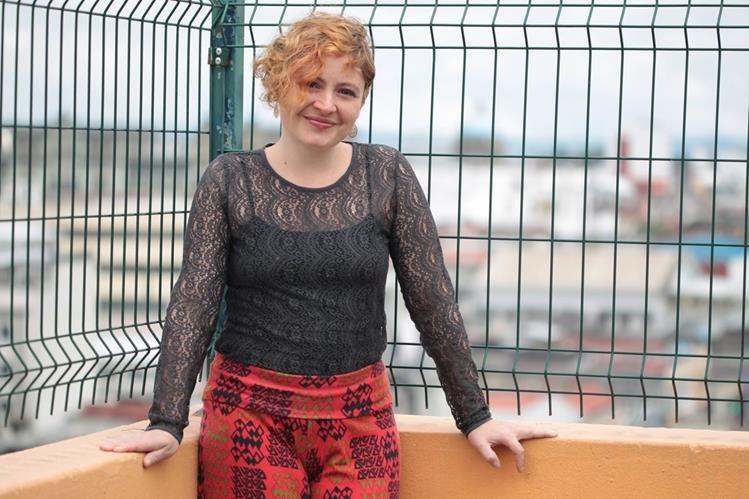 La cantautora nacional escribió el tema Abuela sangre para participar en este certamen internacional. (Foto Prensa Libre: Ángel Elías)