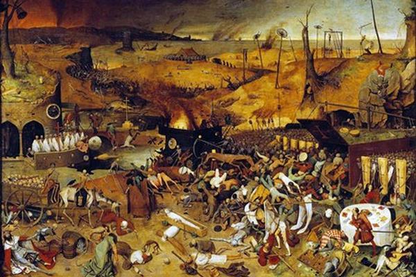 <p>El triunfo de la muerte, de Pieter Brueghel el Viejo (1525-1569). (Foto Prensa Libre: Archivo)</p>