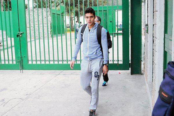 Jorge Aparicio podría dejar Comunicaciones para vincularse a un equipo de la MLS. (Foto Prensa Libre: Marcela Morales)